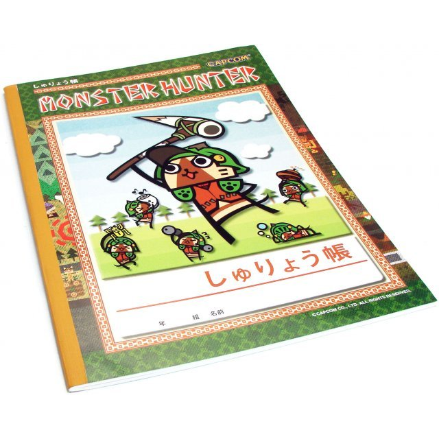 Monster Hunter Touma Note Pad