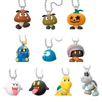 Super Mario Galaxy Enemy Character Collection Keychain Gashapon