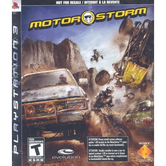 MotorStorm (from console bundle)
