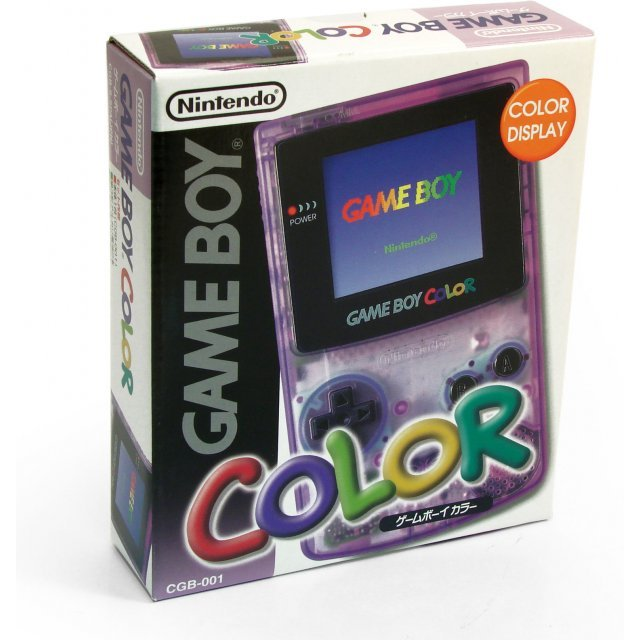 Game Boy Color Console - clear purple