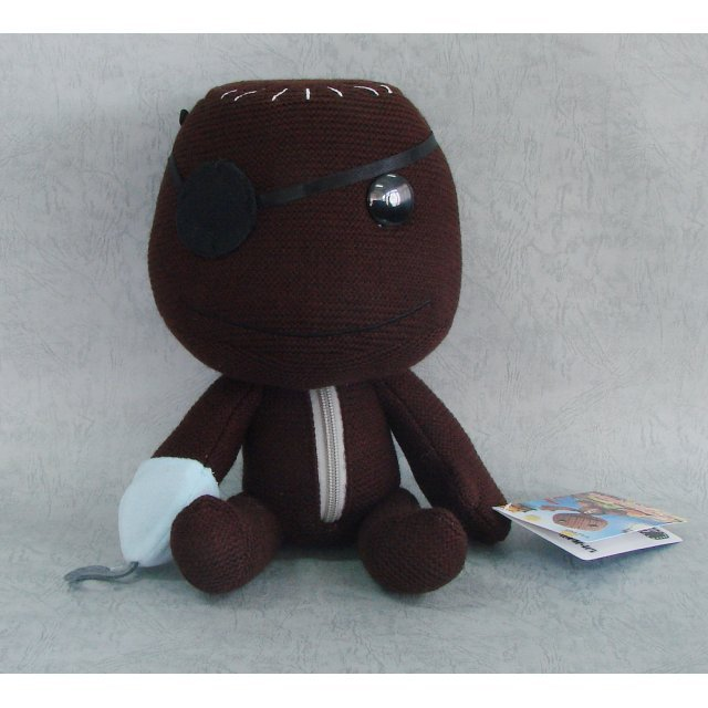 LittleBigPlanet Knit Plush Doll: Sackboy (Pirate Version)