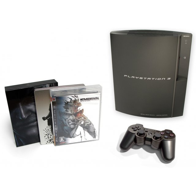 Metal Gear Solid 4: Guns of the Patriots [Premium Pack] [box slightly damaged]