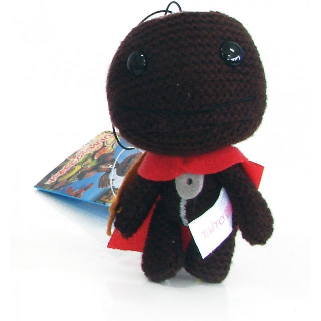 LittleBigPlanet Mini Knit Mascot Plush Doll: Sackboy (Soldier Version)