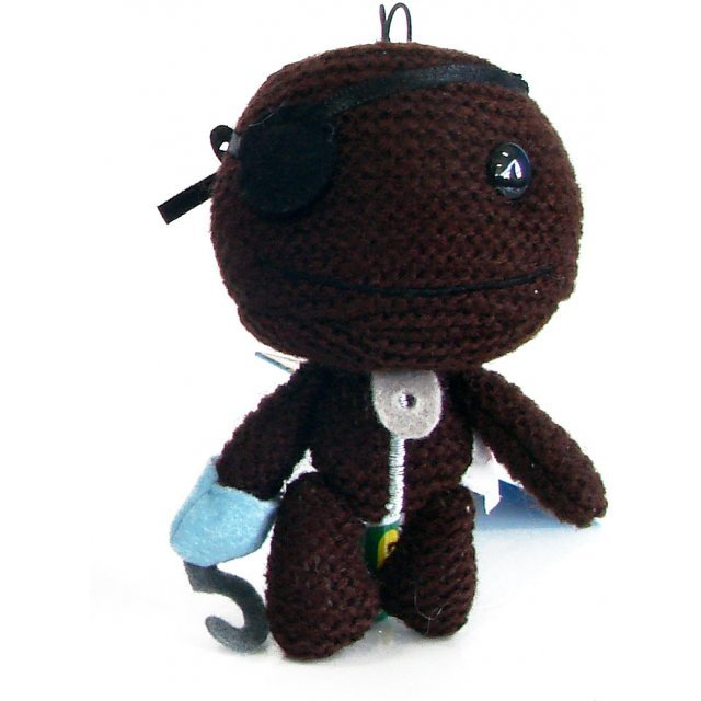 LittleBigPlanet Mini Knit Mascot Plush Doll: Sackboy (Pirate Version)