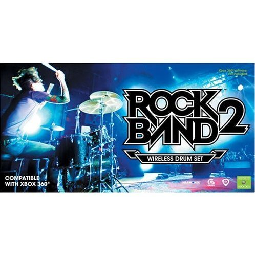 Rock Band 2 Wireless Drum Set