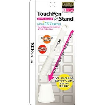 Nintendo DS Touch Pen & Stand (White)
