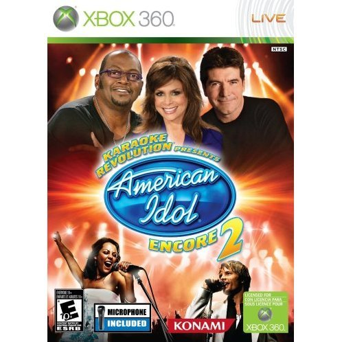 Karaoke Revolution: American Idol Encore 2 Bundle