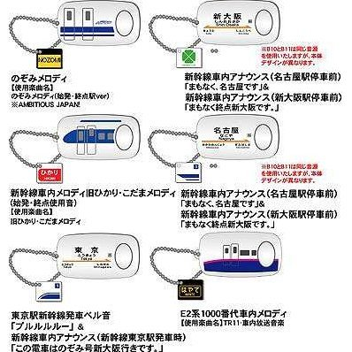 Sound Pot Shinkansen Gashapon