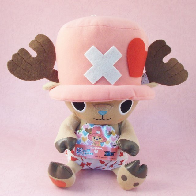 One Piece DX Plush Doll: Chopper (Valentines Version)