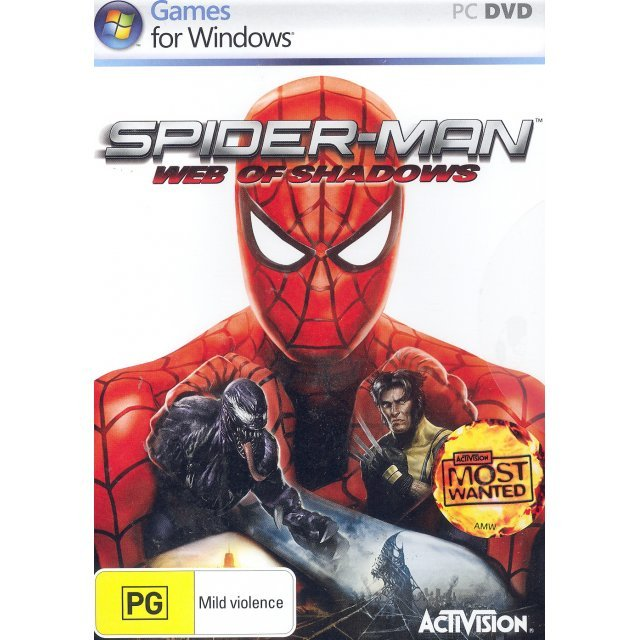 Spider-Man: Web of Shadows (DVD-ROM)