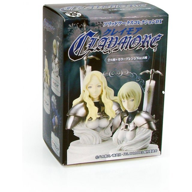 Claymore DX Collection Pre-Painted Trading Figure