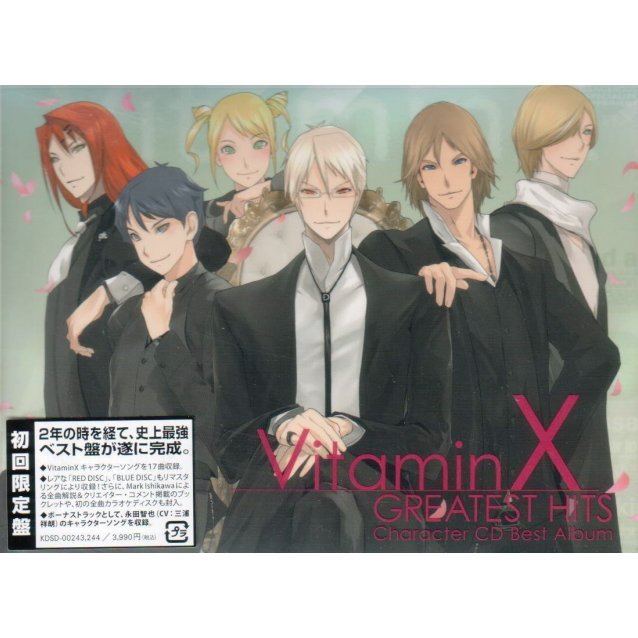 VitaminX Character CD Best Album - Greatest Hits [Limited Edition]
