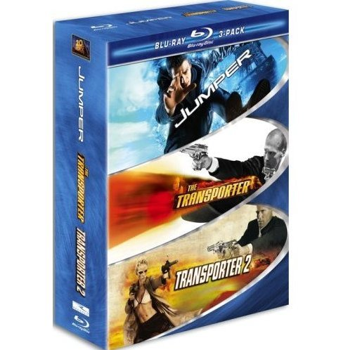 Action Blu-ray 3-Pack (Jumper / Transporter / Transporter 2)