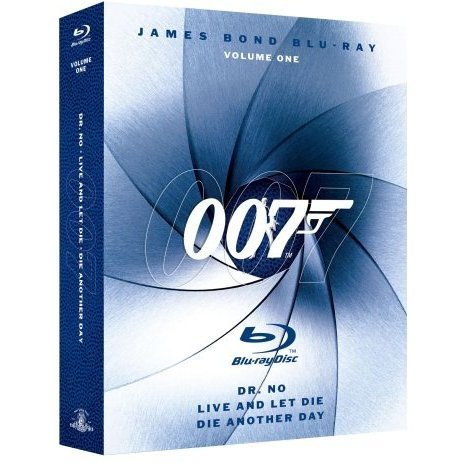 James Bond Blu-ray Collection Vol. 1 (3-pack)