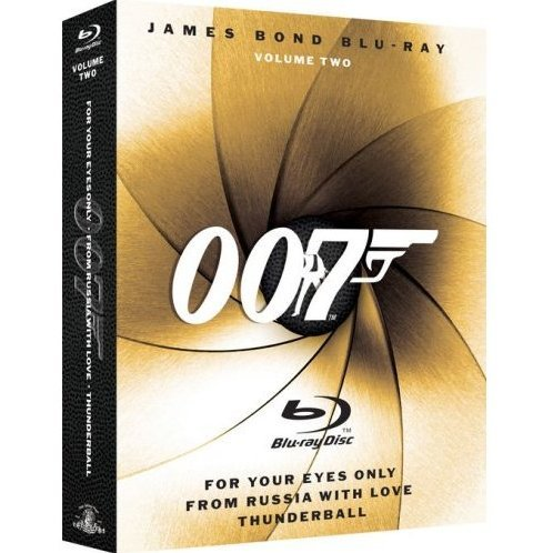 James Bond Blu-ray Collection Vol. 2 (3-pack)