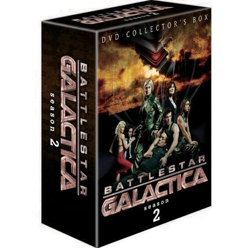 Battlestar Galactica: Season 2 DVD Box 1