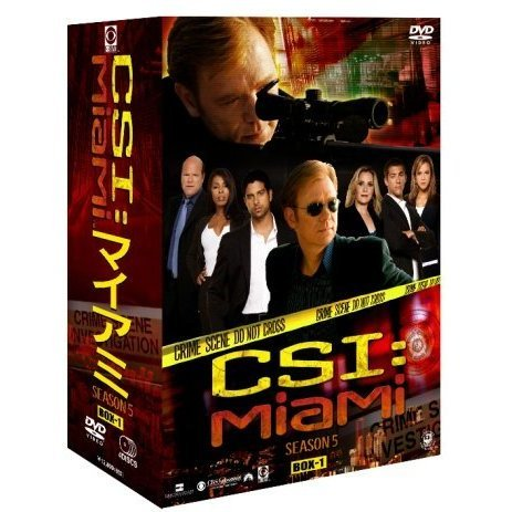 CSI: Miami Season5 Complete DVD Box 1