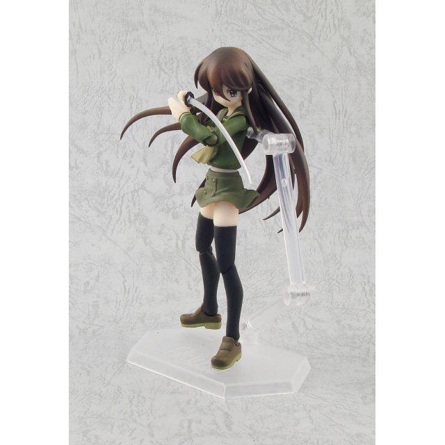 Shakugan no Shana II Non Scale Pre-Painted PVC Figure: figma Shana (Black Version)