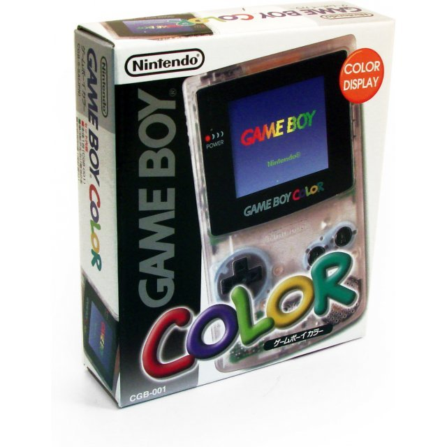 Game Boy Color Console - clear