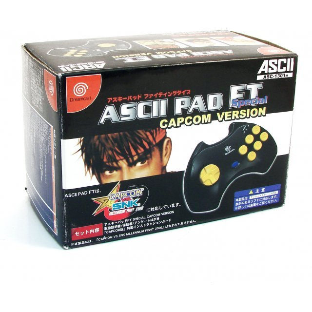 Ascii Pad FT Special - Capcom Version