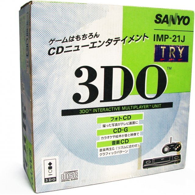 3DO Console - Sanyo TRY IMP-21J