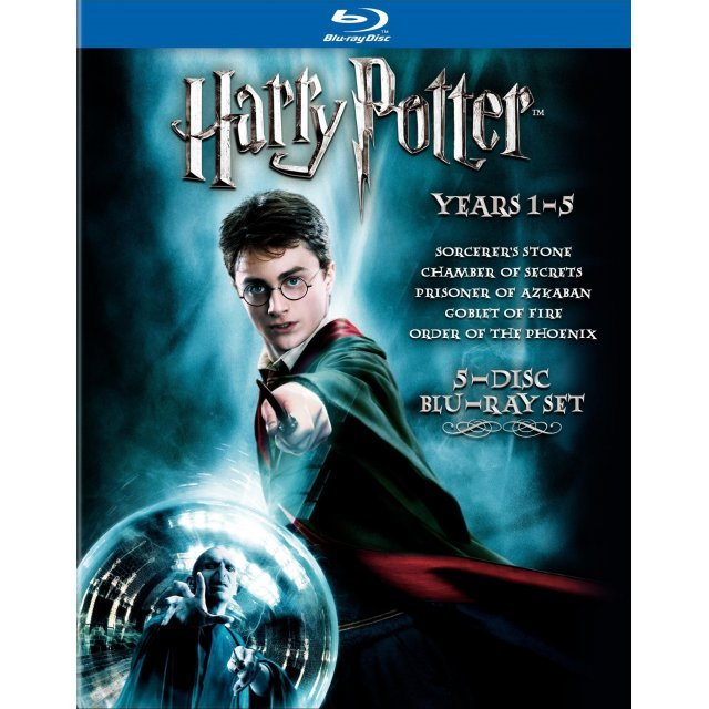 Harry Potter: Years 1-5 Box Set