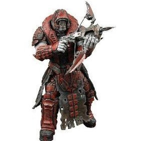 Gears of War Series 2 Pre-Painted Action Figure: Theron Sentinel (Helmet)