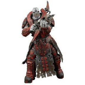 Gears of War Series 2 Pre-Painted Action Figure: Theron Guard (Without Helmet)
