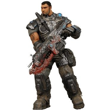Gears of War Series 2 Pre-Painted Action Figure: Dominic Santiago