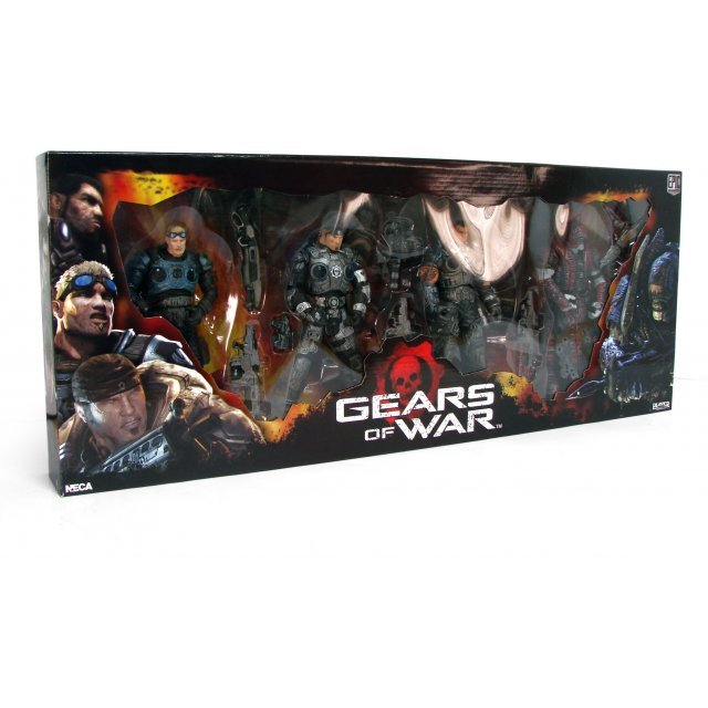 Gears of War Series 2 Action Figure Box Set
