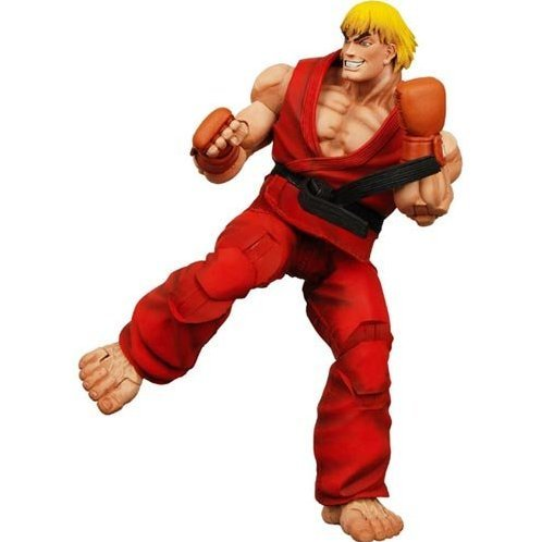 Street Fighter IV Series 1 Action Figure: Ken (Re-run)