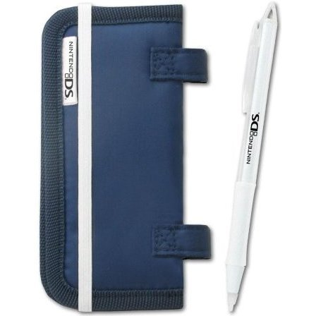 Card Folder + Touch Pen (Blue)