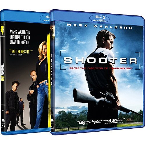 Italian Job / Shooter (Blu-ray 2-Pack Side by Side)