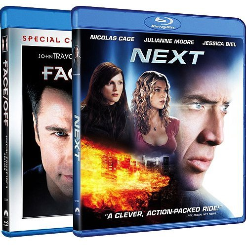 Next / Face Off (Blu-ray 2-Pack Back to Back)