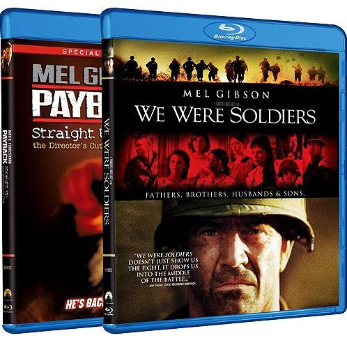 Payback / We Were Soldiers (Blu-ray 2-Pack Side by Side)