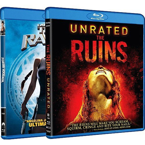 The Ruins / Tomb Raider (Blu-ray 2-Pack Side by Side)