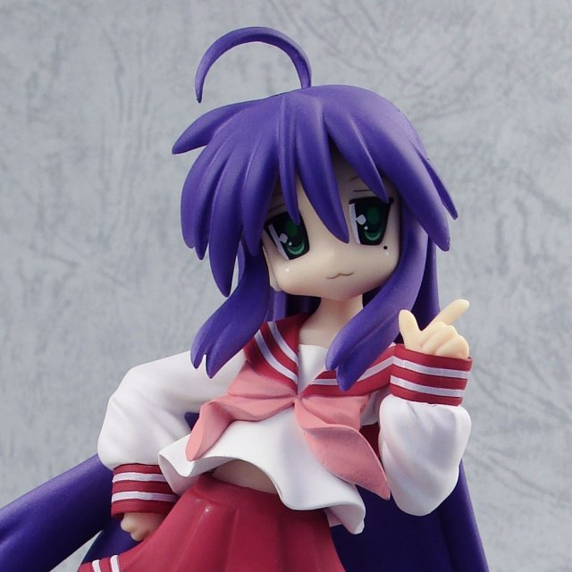 Lucky Star 1/8 Scale Pre-Painted PVC Figure: Izumi Konata (Clayz Version)