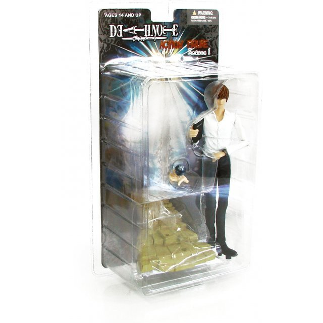 Death Note Season 1 Pre-Painted Action Figure: Light Yagami