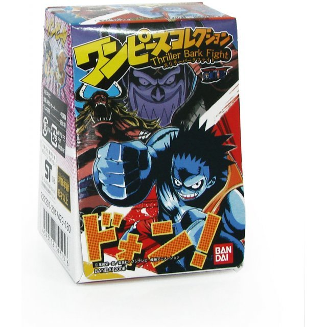 One Piece Thriller Bark Fight Pre-Painted Candy Toy