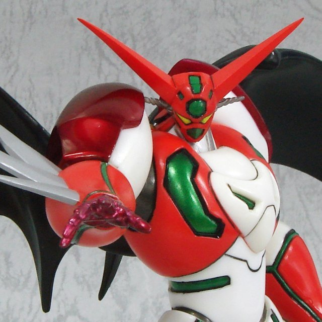 T O P Collection No.2 Shin Getter Robo Non Scale Pre-Painted Figure: Shin Getter 1