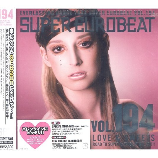 Super Eurobeat Vol.194 Love & Sweets