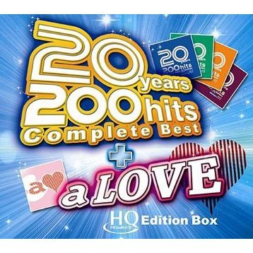 20Years 200Hits Complete Best A Love High Quality CD Edition Box [Limited Edition]