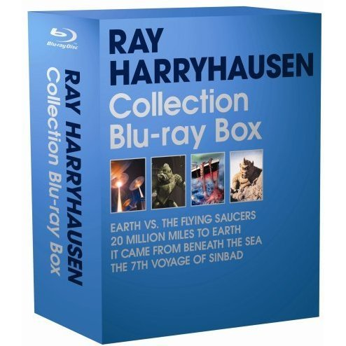 Ray Harryhausen Collection Blu-ray Box