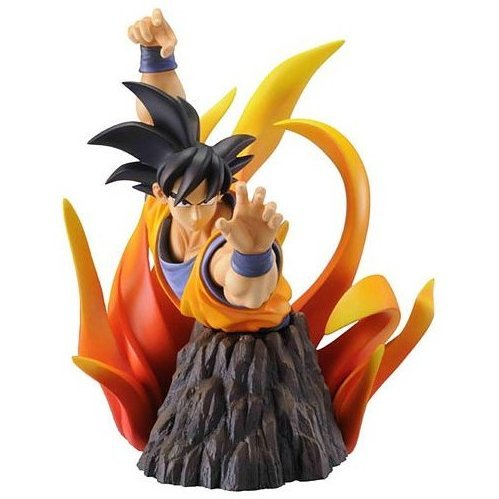 Dragon Ball Z The Bust Collection Non Scale Pre-Painted PVC Statue: Son Goku