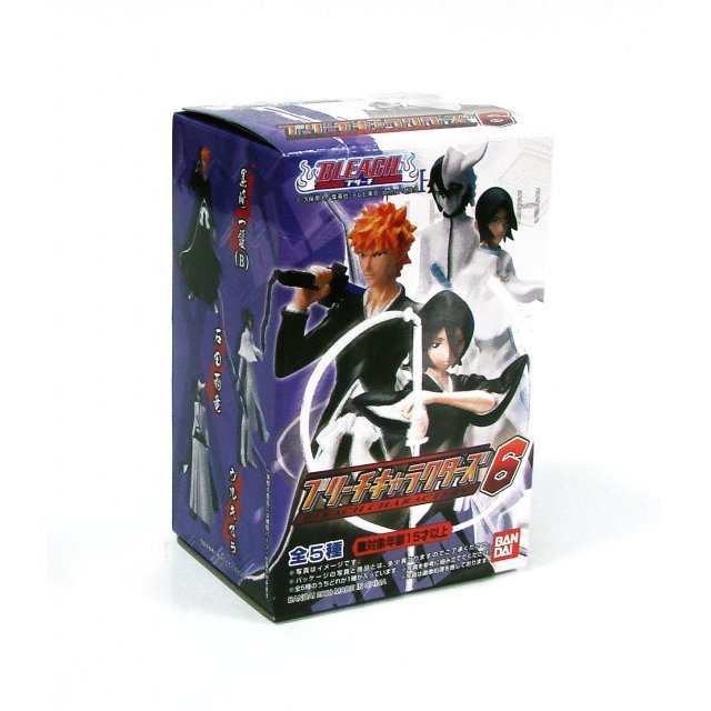 Bleach Characters 6 Non Scale Pre-Painted Trading Figure