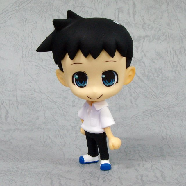 Neon Genesis Evangelion Deformation Maniac Collection Pre-Painted Figure: Shinji Ikari