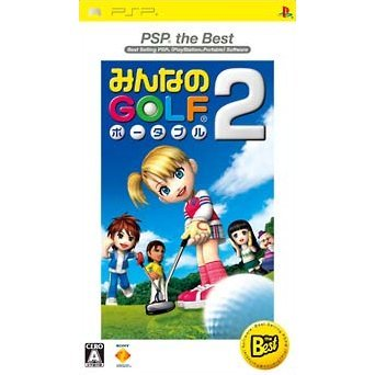 Minna no Golf Portable 2 (PSP the Best)
