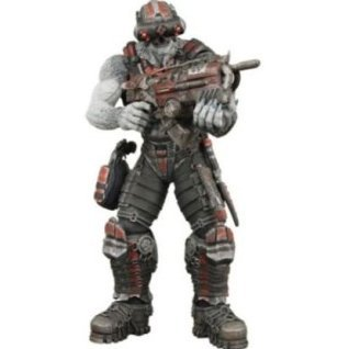 Gears of War Series 3 Pre-Painted Action Figure: Locust Grappler