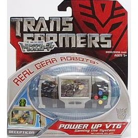 Transformers Real Gear Robots Pre-Painted Figure: Power Up VT6