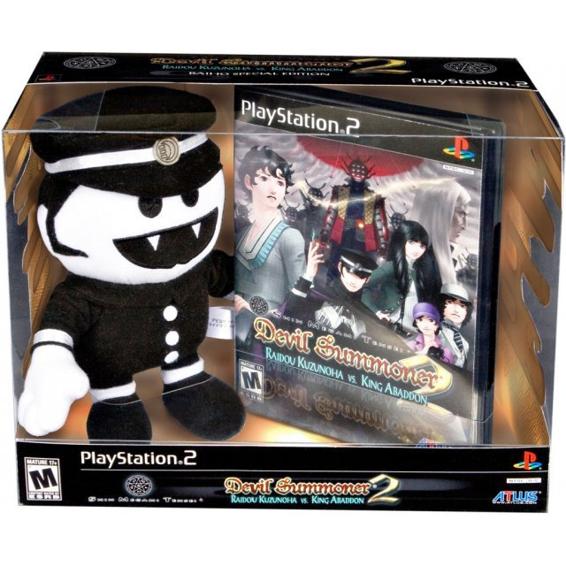 Shin Megami Tensei: Devil Summoner 2: Raidou Kuzunoha Versus King Abaddon [Limited Edition w/ Raiho Plush]
